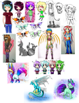 18/23 Open adoptables!!! by cat2198