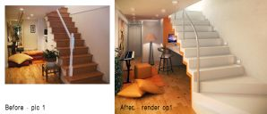 remodeling a staircase op1 by kasrawy