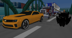 MMD Newcomer Bumblebee VH Mode + DL by Valforwing