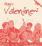 Xmenfirstclass valentine sketch by Brilcrist