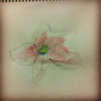 Watercolor Flower? by wolfiecarrotnyaa