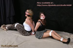 Lana and Alana : sisters in ropes and gags. by PhMBond