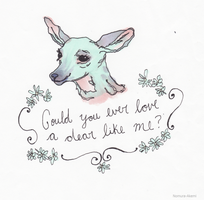 Could You Ever Love A Dear Like Me ? by Hellebore-Styx