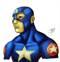 FooRay Captain America by BraedenPenberg
