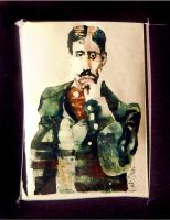 Early Days 10_Marcel Proust by richardcgreen