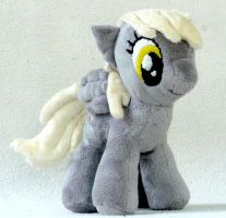 Derpy Plushie: Light Background by iSmartMan
