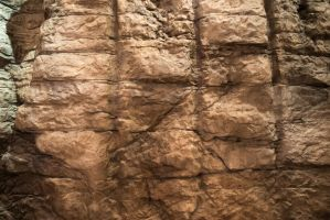 Manmade Rock Wall or Cave Wall by LadyCarolineArtist