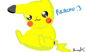 Pikachu by NeverWastedTime