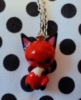Little fox charm by superayaa