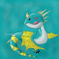 HTTYD - Cute Dragons: Nadder by Yoshi66666666
