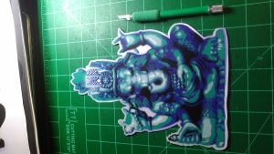 ganesh sticker by TruChalk