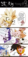 Silver and Blaze storytelling by koda-soda