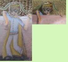 Aelius Bookmark! by speckles2102