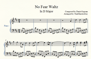 MLP: No Fear Waltz Sheet Music by ThatMaestroGuy