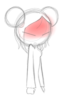 Angry Pucca Sketch by PuccaFanGirl