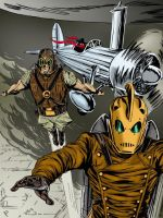 Rocketeer and Co. by jaypiscopo