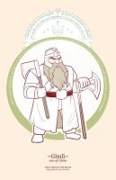 Gimli son of Gloin by greenwindstudio