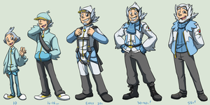 Brodie Age Progression by forte-girl7