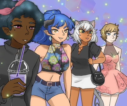 +The squad+ by Anigirl5