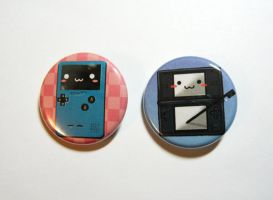 nintendo buttons by michellescribbles