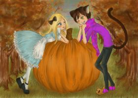 Alice in Autumnland by SugarSugarHyperLolly