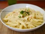 pasta with salmon by burcyna