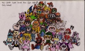 SuperSmashBros Doll Collection by MaX---DeAtH