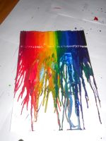 WIP Crayon Art 2 by thestoryofthemonster