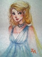 watercolour experiment by ZLynn