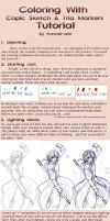 Copic-Tria Marker Tutorial by Kawaii-Ash