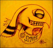 Smile by syke-ink