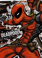 Deadpool Tablet by AfroAlex