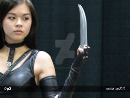 X-23 (LoneShadow-Wolf Cosplay) REACTOR CON 2012 by adventuresofp2