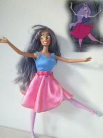 madam mim doll ooak by lulemee
