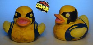 Wolverine Rubber Ducky by Caen-N