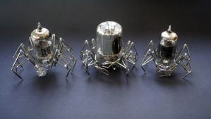 Vacuum Tube Spider Group by AMechanicalMind