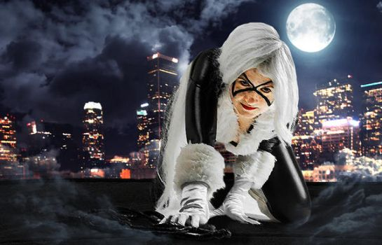Black Cat Cosplay by 1Kasumi