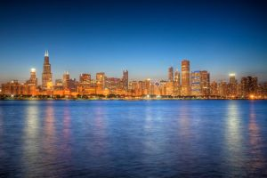 Chicago Skyline by MarcinPhoto