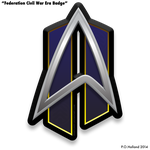 Fleet Badge - Federation Civil War Era by Phaeton99