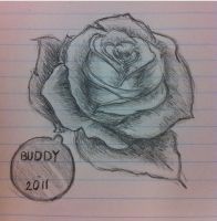 Tattoo Design for MisSarahNicole - Buddy by CrazyLittleOwl