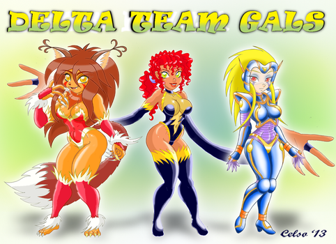 DELTA TEAM  GALS! by Celso33