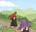 Dog Witches by shadowkitty13