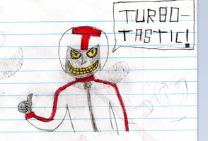 A Turbo-Tastic doodle by 8BitStitchPunk