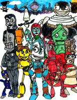 Robots by SonicClone