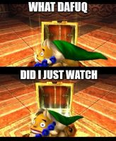 Goron link cant unseen??? by SNESS107