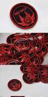 Red Halo Patches by Ashwings