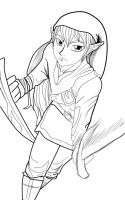 Link Lineart by E-M-R