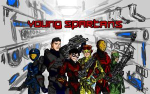 Young Spartans by whatthebooty