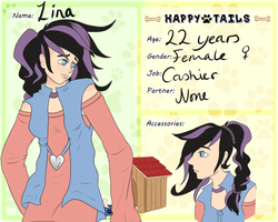 Happy-Tails: Lina by SnowAngelRika