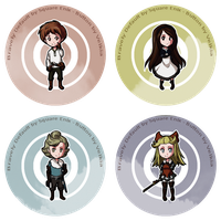Bravely Default - Buttons by Velkia